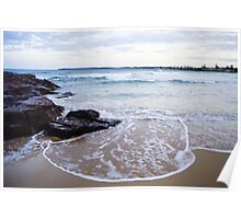 Waterscapes: Barrack Point Headlands Poster