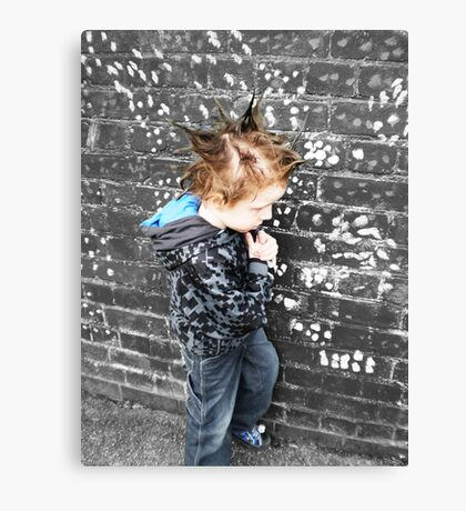 Zombie and Gothic PT 2 Canvas Print