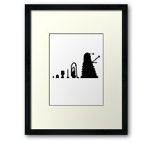 Ascent of a pepper pot  Framed Print