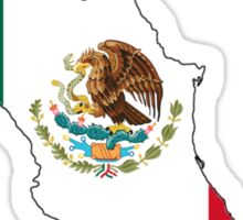 Mexico Mexican Flag Sticker