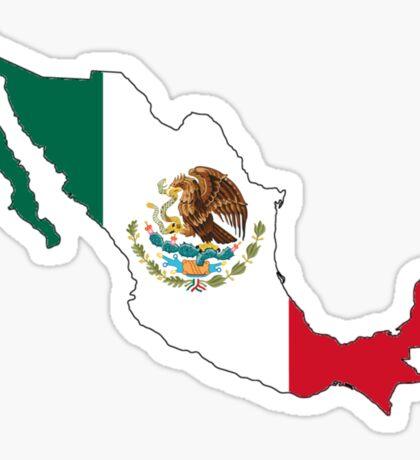 Mexico Mexican Flag Sticker