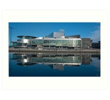 The Lowry Centre Salford Quays Manchester Art Print