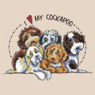 Cockapoo Lover by offleashart