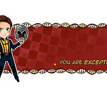 You are exceptional by arisupaints