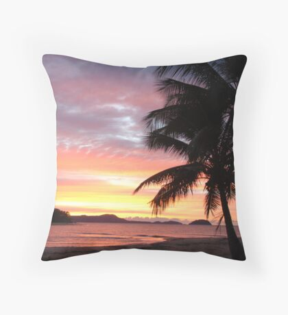 Dunk Island Sunrise Throw Pillow