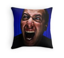 The Face of Fear  Throw Pillow