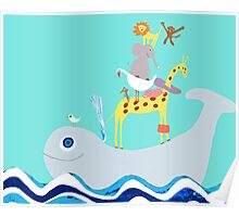 Whale taxi Poster