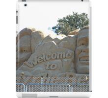 Presidential Election sandcastle iPad Case/Skin