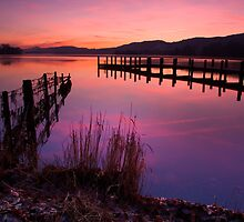 Coniston Water Sunset by Beefheart