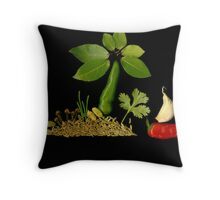 Spice Island Throw Pillow