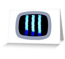 Jack White Guitar monitor Greeting Card