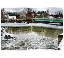 Enosburgh Falls Vermont Poster