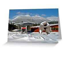 BEYOND MERRITT, B.C. Greeting Card