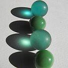 Green Globes by Tracy Wazny