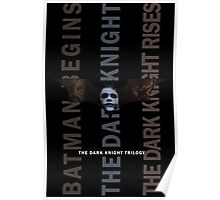 The Dark Knight Trilogy - Villains (Color) Poster