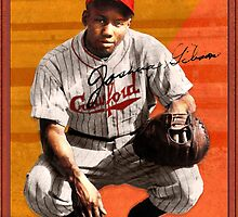Josh Gibson All-Star Baseball Card by John Gieg