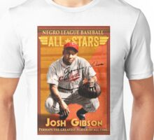 Josh Gibson All-Star Baseball Card Unisex T-Shirt