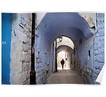 Abuhav alley Safed Poster