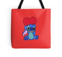 Stitch with heart Tote Bag