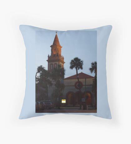 Historic Grace United Methodist Church, St. Augustine, Florida Throw Pillow