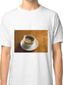 World Map in Coffee Classic T-Shirt