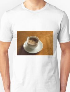 World Map in Coffee T-Shirt