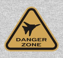 Danger Zone - Triangle T-Shirt