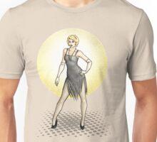 Georgette - 1920s Flapper Showgirl Unisex T-Shirt