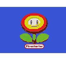 firestarter fire flower mario Photographic Print