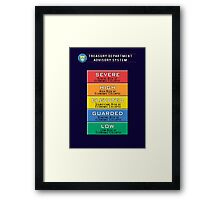Economic Advisory System Framed Print