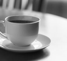 Coffee Cup Saucer by Lightrace