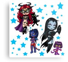 Tarot & Friends Chibi design Metal Print