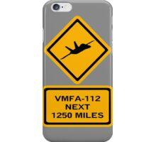 VMFA-112 iPhone Case/Skin