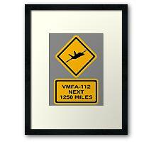 VMFA-112 Framed Print