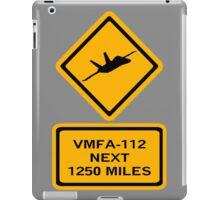 VMFA-112 iPad Case/Skin