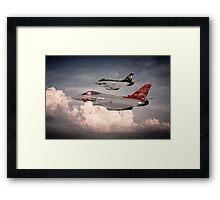 Anniversary Typhoons Framed Print