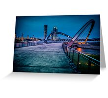 Seri Gemilang Bridge  Greeting Card