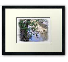 Still Waters Framed Print
