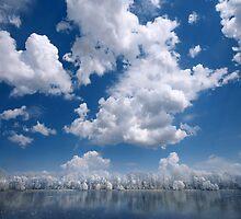 Cotton Sky by Philippe Sainte-Laudy