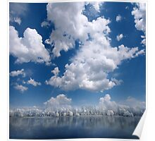 Cotton Sky Poster