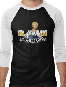 St Pauli Girl Beer Men's Baseball ¾ T-Shirt