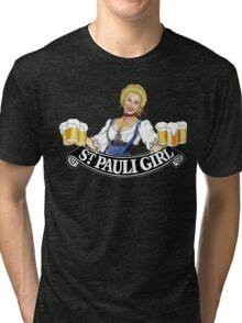 St Pauli Girl Beer Tri-blend T-Shirt