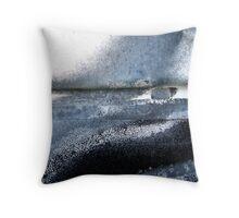 Moonlit Tides Throw Pillow
