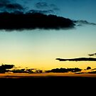 A Glasgow Sunset by Vagelis Georgariou