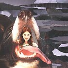 20 - BEAUTY IN THE BEAST - DAVE EDWARDS - COLLAGE & INK - 1995 by BLYTHART