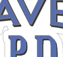 Haven PD Blue Logo Sticker