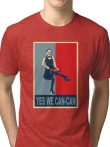 Yes we Can-Can Tri-blend T-Shirt
