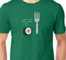 Sushi doesn't care Unisex T-Shirt