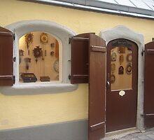 Austrian Clocks Shop by Daniela Cifarelli