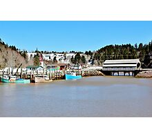 The Inner Harbour Photographic Print